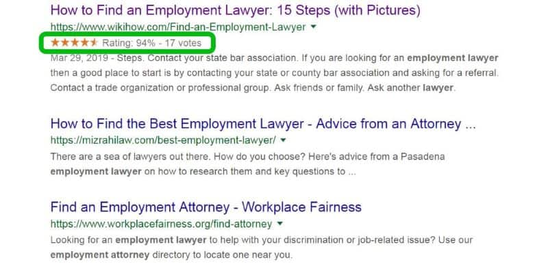 Google Rating Stars in Search Results (Fast & Easy)