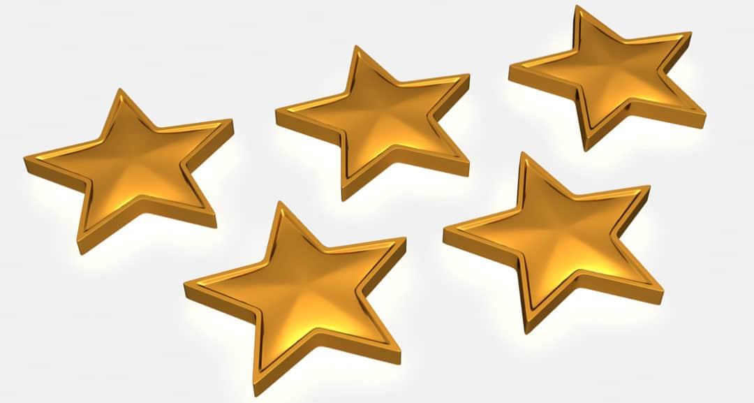 How do you get 5 star reviews on Google?